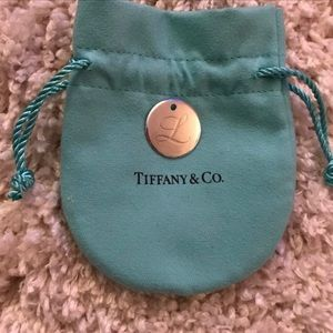 Tiffany & Co. Initial L Disc Pendant
